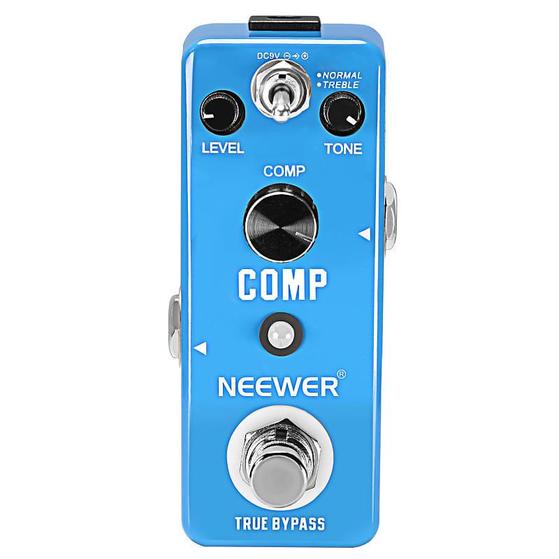 neewer mini compressor pedal comp guitar effect pedal reverb. Black Bedroom Furniture Sets. Home Design Ideas