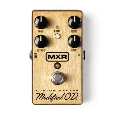 MXR M77 Custom Badass Modified OD Overdrive Pedal