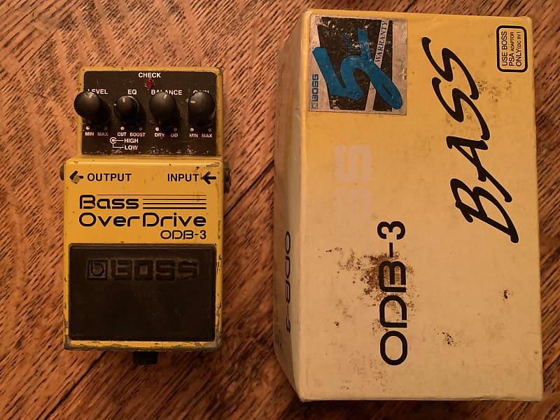 boss odb 3 bass overdrive garrett 39 s gear grove reverb. Black Bedroom Furniture Sets. Home Design Ideas
