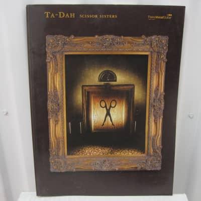Scissor Sisters Ta-Dah Piano Vocal Guitar Sheet Music Song Book Songbook
