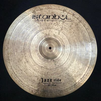 """Istanbul Agop 22"""" Special Edition Jazz Ride Cymbal - 2414g"""