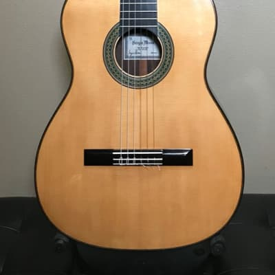 2004 Sergio Abreu Classical Guitar Old Spruce top/ Indian Rosewood back & sides for sale