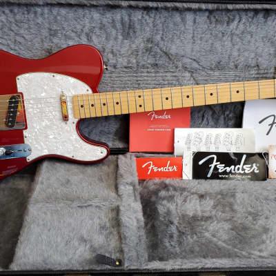 Fender Standard Telecaster Candy Apple Red **Noiseless Pickups**