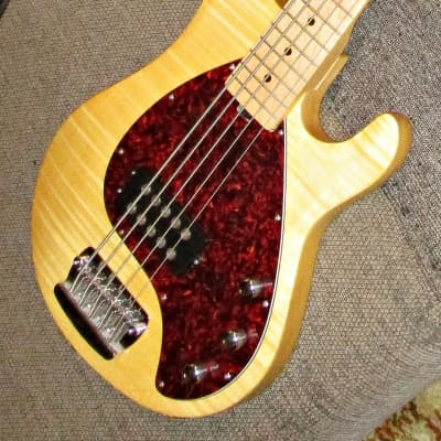 OLP Officially Licensed Product Ernie Ball 5-string Stingray bass 2005 natural for sale
