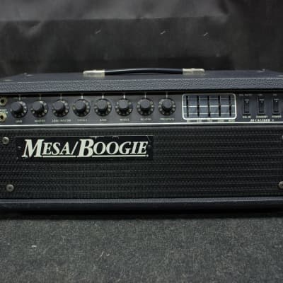Vintage Mesa Boogie Caliber 50+ Long Head 1990 Black for sale