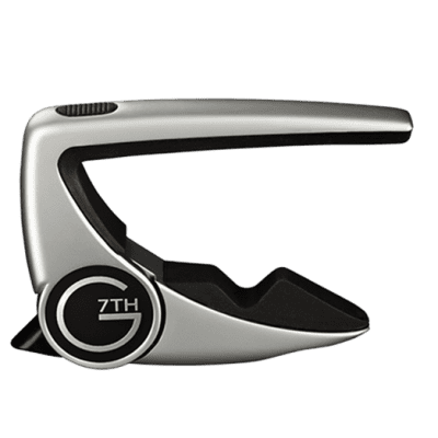 G7th Performance 2 Capo G7th 6 String Silver for sale