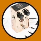 2008 J. Rockett Audio Designs Rockett Boost - Rare Original Run in Copper Case with Box & Paperwork! image