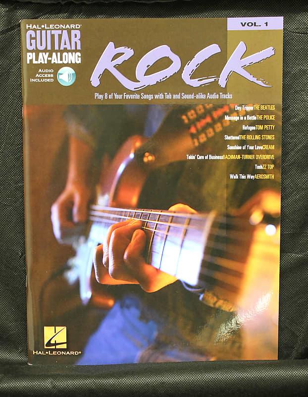 Rock Guitar Play-Along Volume 1 Guitar TAB Songbook