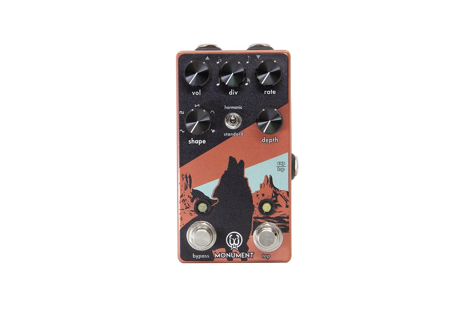 Walrus Audio Monument V2 Harmonic Tap Tremolo Effects Pedal