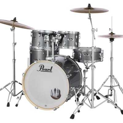 Pearl Export 5-pc. Drum Set with Hardware and Zildjian Cymbals - Grindstone Sparkle