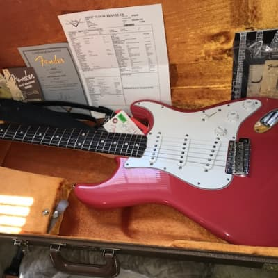 Fender 1960 Custom Shop Stratocaster NOS 2011 Fiesta Red for sale