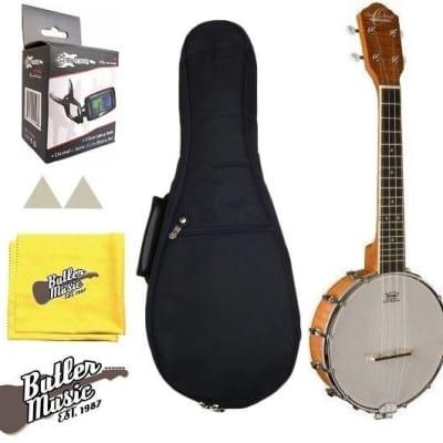 Oscar Schmidt Model OUB1 Concert Size Banjolele Banjo Uke w/Gig Bag + More