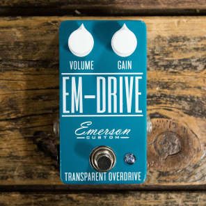 Emerson EM-Drive Transparent Overdrive
