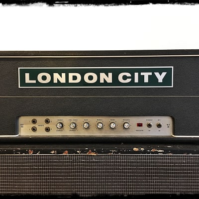 Vintage London city DEA 100 MK IV 1970 grey tolex for sale