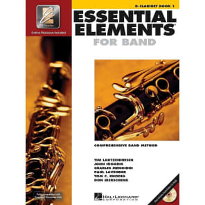 Hal Leonard Essential Elements for Band - Eb Alto Clarinet Book 1 with EEi