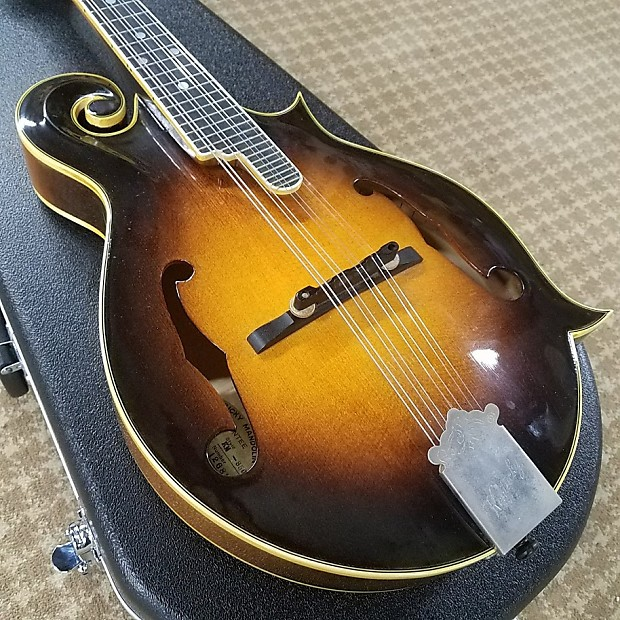 Kentucky KM-850 F-Style Mandolin Vintage Made In Japan