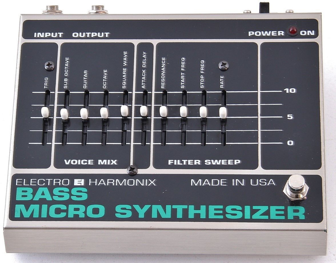 electro harmonix bass micro synthesizer reverb. Black Bedroom Furniture Sets. Home Design Ideas