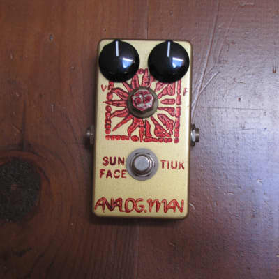 Analogman Sun Face Germanium Fuzz TI-UK