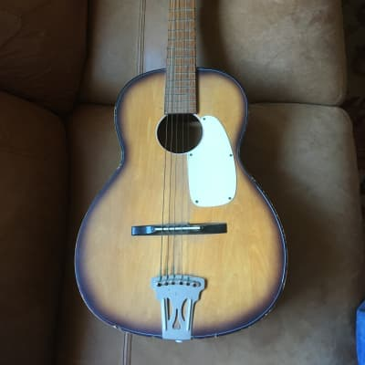 Crestwood Parlor Guitar Project for sale