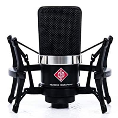 Neumann TLM-102 Large-Diaphragm Studio Condenser Microphone (Studio Set, Black)