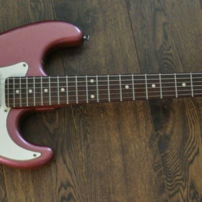 Kapok MEG 9012 Electric Guitar - Pink Sparkle Finish for sale