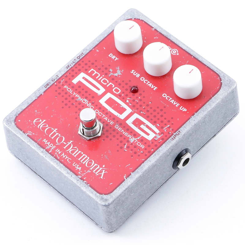 electro harmonix micro pog octave guitar effects pedal reverb. Black Bedroom Furniture Sets. Home Design Ideas