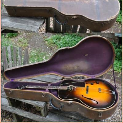Gibson ES -150  Charlie Christian Tenor Guitar 1937 Sunburst