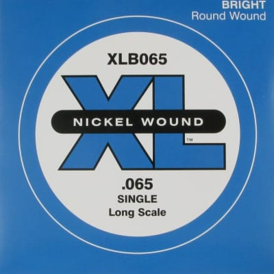D'Addario XLB065 Bass Single