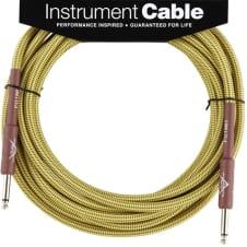 Fender Custom Shop Cable, 18.6', Tweed