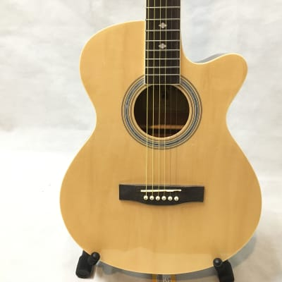 Used Indiana MAD Acoustic Guitar Natural for sale