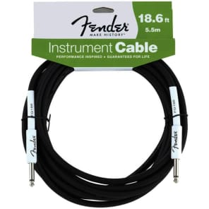Fender Performance Series 18ft Instrument Cable for sale