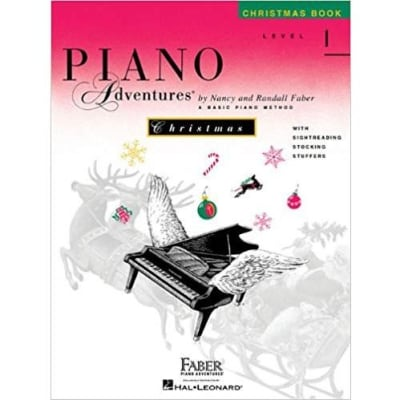 Piano Adventures: A Basic Piano Method - Christmas Book Level 1