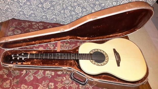 Ovation Usa Us Acoustic Guitar Vintage 1111 6 11116 1111 6 Reverb