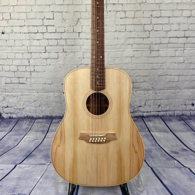 COLE CLARK FAT LADY 2 - 12 STRING - BUNYA TOP, BLACKWOOD BACK AND SIDES for sale