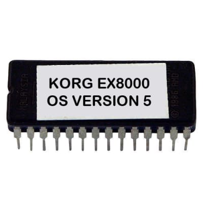 Korg EX-8000 - V. 5 Latest OS Update Upgrade Firmware Eprom  Ex8000