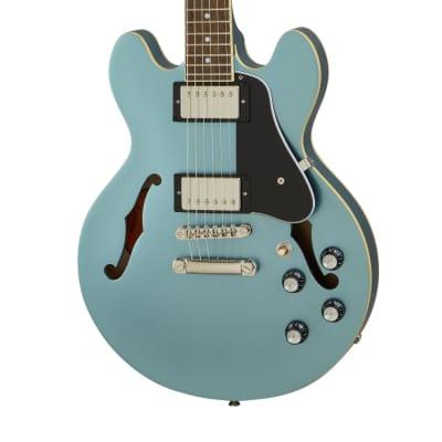 Epiphone ES-339 Semi Hollow Electric Guitar in Pelham Blue