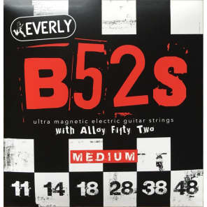 Everly Music 9211 B-52s Ultra Magnetic Electric Guitar Strings - Medium (11-48)