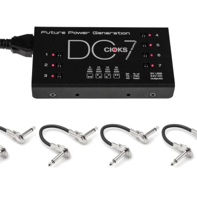 New CIOKS DC7 Guitar Pedal Power Supply! DC 7