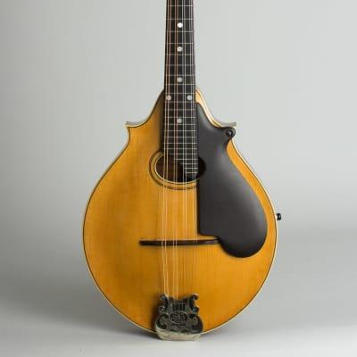 Lyon & Healy  Style B Carved Top Mandolin,  c. 1919, ser. #925, original black hard shell case. for sale