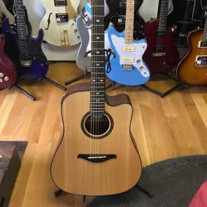 Hohner - AS355CE Solid Top Cutaway Dreadnought - Acoustic-Electric Guitar With Gig Bag for sale
