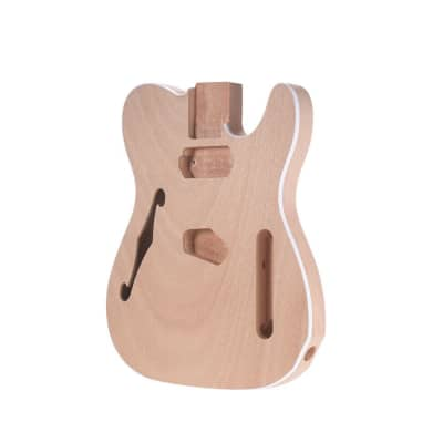 Telecaster Style Electric Guitar Body Mahogany Wood
