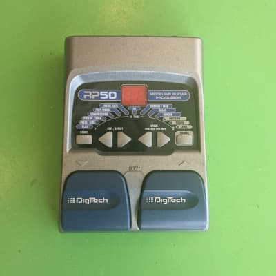 Digitech RP50  Amp Modeling/Multi Effects Unit w/ Box, Used for sale