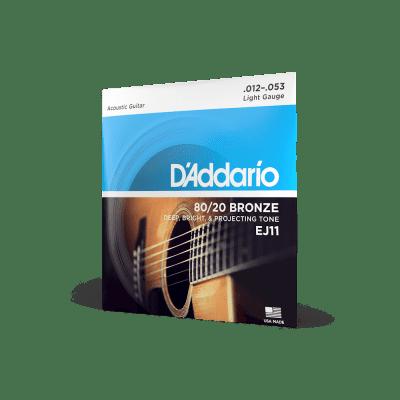 D'Addario EJ11 12-53 Regular Light Set