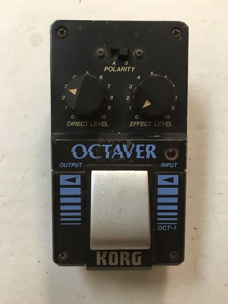 korg oct 1 octaver analog octave rare vintage guitar bass reverb. Black Bedroom Furniture Sets. Home Design Ideas