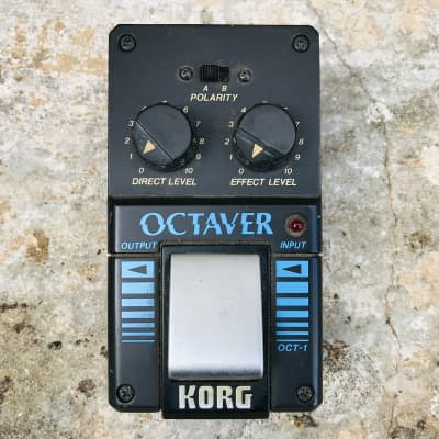 Korg OCT-1 Octaver RARE Vintage 80s Analogue Effects Pedal (Made in Japan) for sale