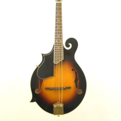 Oscar Schmidt Model #OM40LH Left-Handed Florentine Spruce Top F-Style Mandolin for sale