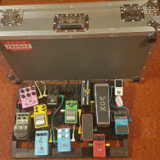 Pedaltrain 3 PT3 Pedalboard With Hard Case/Flight Case