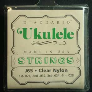 D'Addario J65 Ukulele Strings Soprano