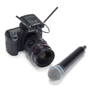 Samson Concert 88 Camera Frequency-Agile UHF Wireless Handheld Mic System - K Band (470–494 MHz)