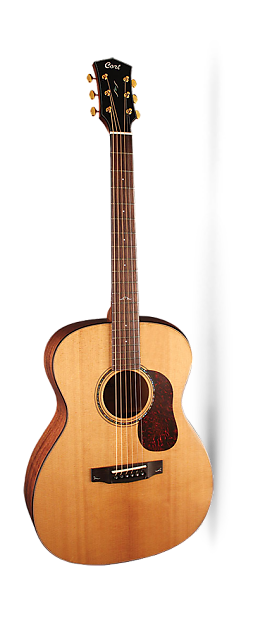 Cort Gold O6, Natural Glossy, Solid Sitka Spruce Top, Solid
